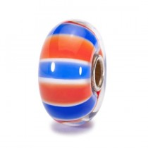 Trollbeads - World Tour UK Colours Glass Bead. TGLBE-10103
