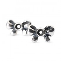 Trollbeads - Bow Earrings. TAGEA-10003
