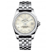 Breitling Galactic 36 SleekT Diamond Watch