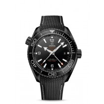 OMEGA SEAMASTER PLANET OCEAN 600 M OMEGA CO-AXIAL MASTER CHRONOMETER GMT 45.5 MM DEEP BLACK