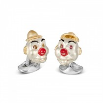 Deakin & Francis - Sterling Silver Clown Cufflinks