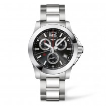 LONGINES CONQUEST CHRONOGRAPH MEN'S WATCH