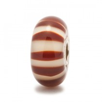 Trollbeads - Chocolate Stripe. TGLBE-10122