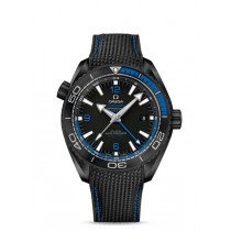 OMEGA SEAMASTER PLANET OCEAN 600 M CO-AXIAL MASTER CHRONOMETER GMT 45.5 MM DEEP BLACK