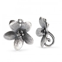 Trollbeads - Troll Anemone Earrings. TAGEA-30003