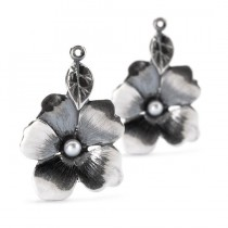 Trollbeads - Flower Freedom Earrings.TAGEA-00082