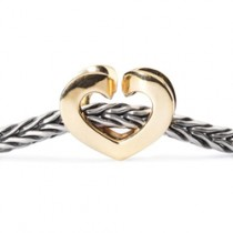Trollbeads - Eternal Love Gold, With Free Gift! TAUBE-00092