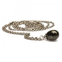 Trollbeads - Fantasy Black Onyx Necklace - 90cm. TAGFA-00004