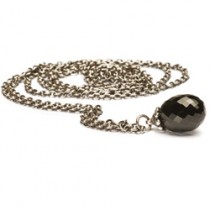 Trollbeads - Fantasy Necklace with Black Onyx - 60cm. TAGFA-00001