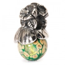 Trollbeads Forget-Me-Not with Bud. TAGBE-00106