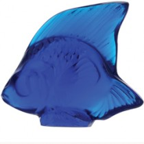 Lalique - Cap-Ferrat Blue Fish