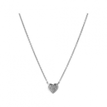Links of London Diamond Essential Heart Pendant 5024.1328