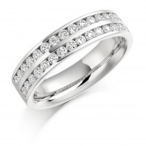 DIAMOND HALF ETERNITY/WEDDING RING HET1077