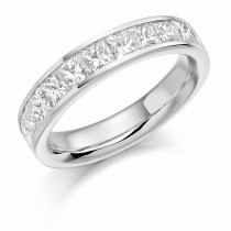 DIAMOND HALF ETERNITY RING HET1165