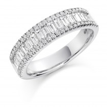 DIAMOND HALF ETERNITY RING HET1295