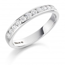 DIAMOND HALF ETERNITY RING HET1310