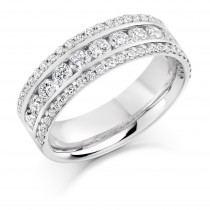 DIAMOND HALF ETERNITY RING HET1359