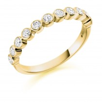 DIAMOND HALF ETERNITY RING HET1411