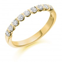 DIAMOND HALF ETERNITY/WEDDING RING HET1843