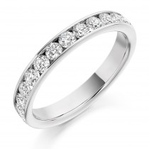 DIAMOND HALF ETERNITY RING HET2108