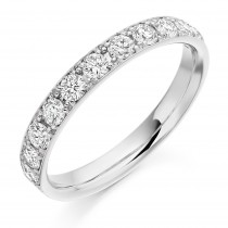 DIAMOND HALF ETERNITY RING HET2121