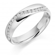 DIAMOND HALF ETERNITY/WEDDING RING HET2167