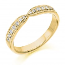DIAMOND HALF ETERNITY/WEDDING RING HET2295