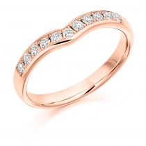 DIAMOND HALF ETERNITY/WEDDING RING. HET2302