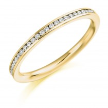 DIAMOND HALF ETERNITY RING HET2358