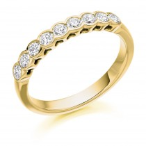 DIAMOND HALF ETERNITY RING HET2388