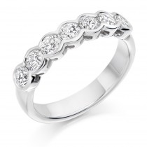 DIAMOND HALF ETERNITY RING HET2390