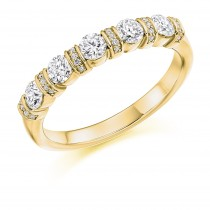 DIAMOND HALF ETERNITY RING HET2636
