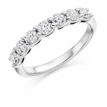 DIAMOND HALF ETERNITY RING HET2704