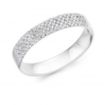 DIAMOND HALF ETERNITY RING HET2743