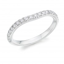 DIAMOND HALF ETERNITY RING HET4354A
