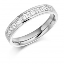 DIAMOND HALF ETERNITY RING HET925