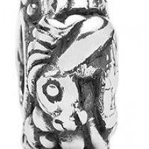 Trollbeads Limited Edition Sterling Silver Horse Zodiac Bead LE11401-7