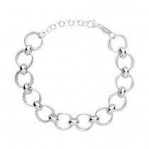 Links of London Aurora Silver Multi Link Bracelet 5010.3172