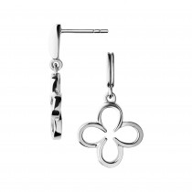 Links of London - Ascot Sterling Silver Lucky Clover and Horseshoe Earrings