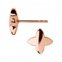 Links of London - Splendour 18kt Rose Gold Vermeil Four-Point Star Stud Earrings