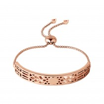 Links of London - Timeless 18kt Rose Gold Vermeil Toggle Bracelet. 5010.3785