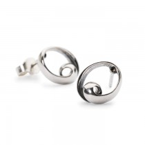 Trollbeads - Neverending Stud Earrings. TAGEA-00072
