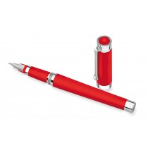 Montegrappa Parola Fountain Pen Red Resin