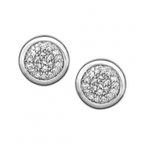 Links of London Essentials Diamond Pave Earrings 5040.2260
