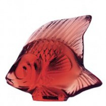 Lalique Red Fish.