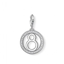 """Thomas Sabo Charm """"Lucky Number 8"""" 1049-051-14"""