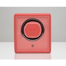 WOLF WATCH WINDER 'CUB' CORAL - 455242