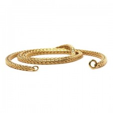 Trollbeads - 14ct Yellow Gold Necklace 45cm. TAUNE-00005