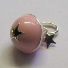 Pink Tinkerbelle charm, by Molly Brown.