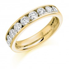 DIAMOND HALF ETERNITY RING HET1323